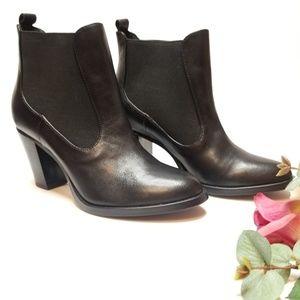 Isaac Mizrahi Shoes - ISAAC MIZRAHI LIVE LEATHER  BOOTIES S:Z6.5M